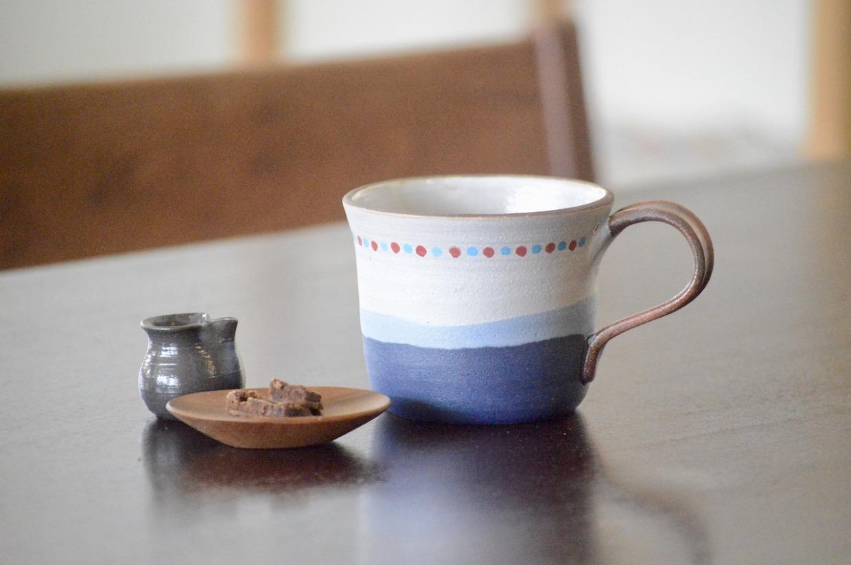 工房ことりの マグカップ(マリン・ストレート型)
