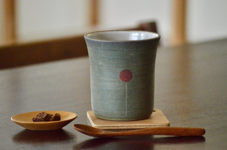 工房ことりの フリーカップ(バルーン緑)