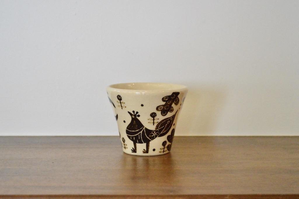 工房双子堂 ベンガラ絵付フリーカップ(1)