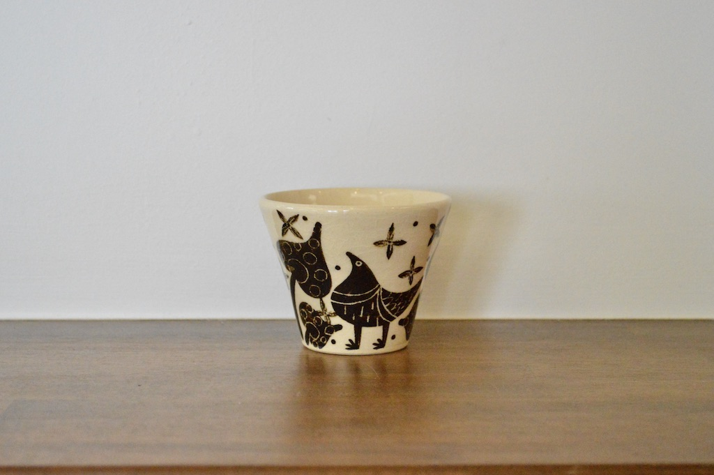 工房双子堂 ベンガラ絵付フリーカップ(3)