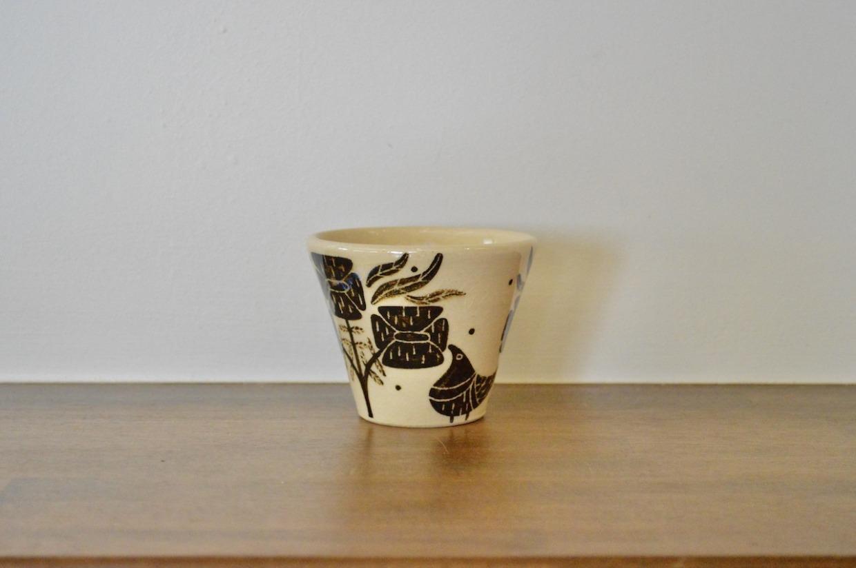 工房双子堂 ベンガラ絵付フリーカップ(4)