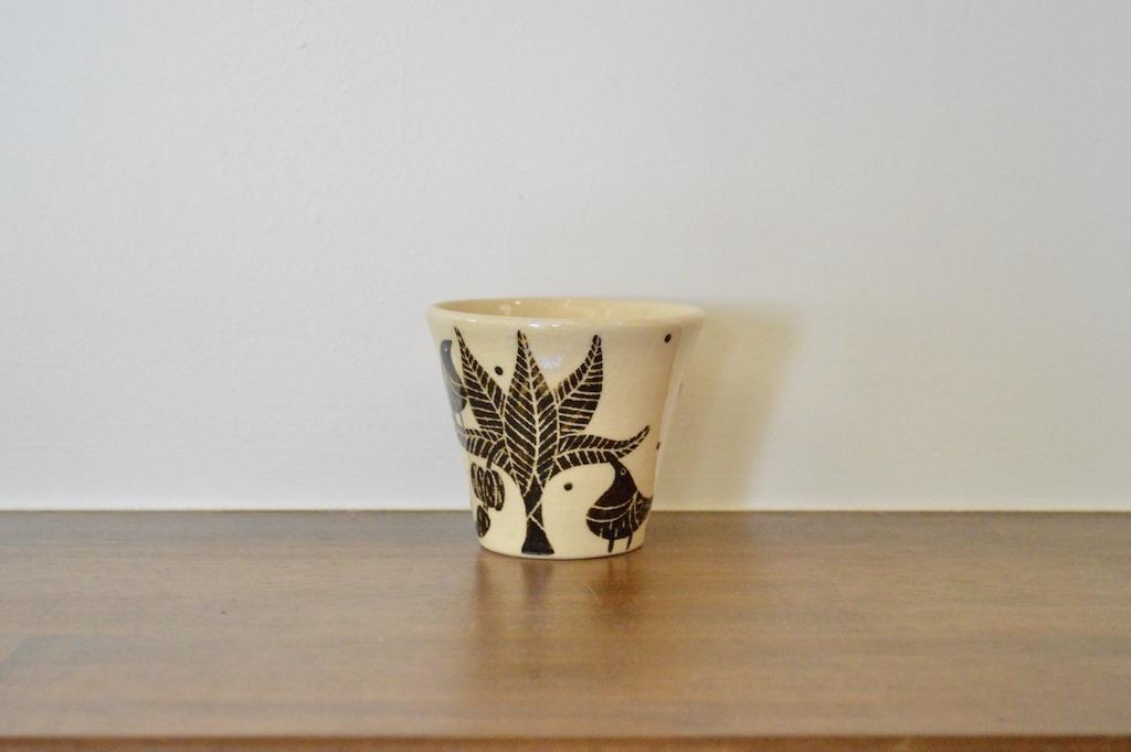工房双子堂 ベンガラ絵付フリーカップ(5)