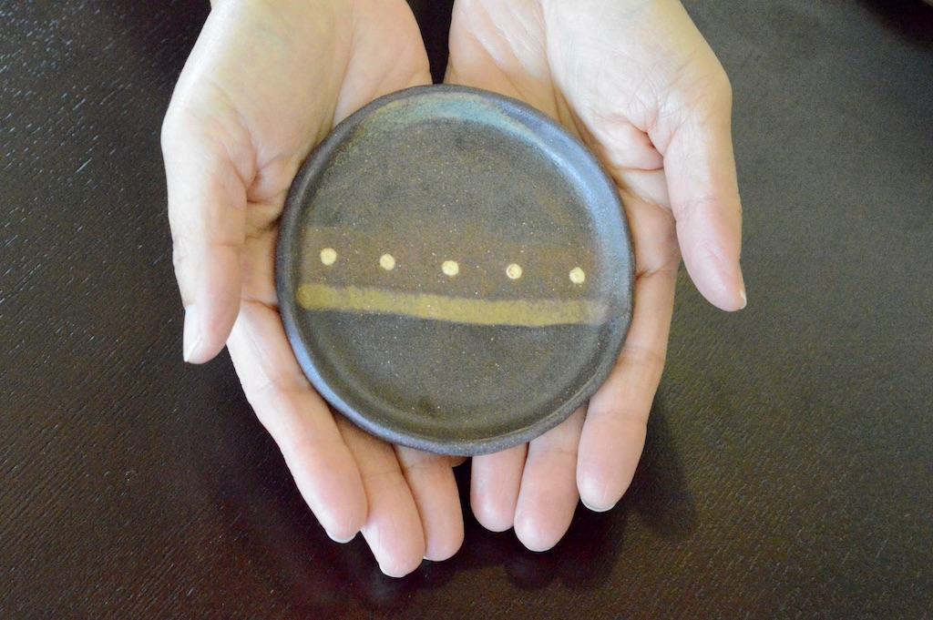 工房ことりの 豆皿(彩り・濃いめM)