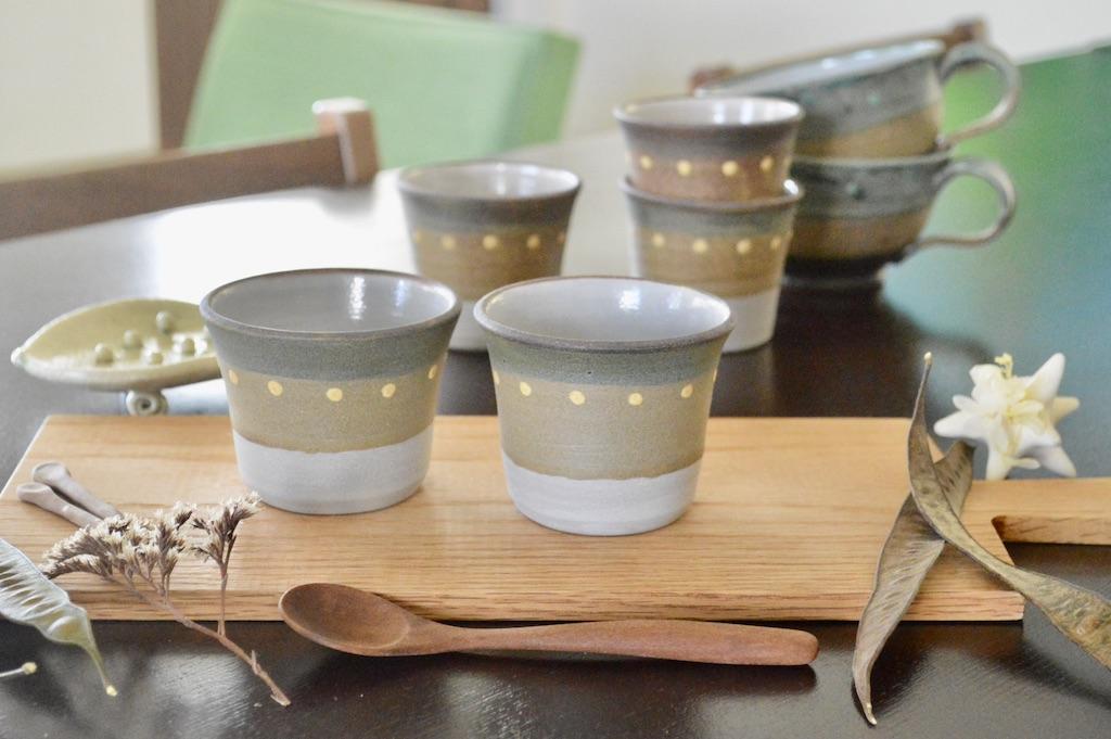 工房ことりの 彩り豆カップ(明るめ)